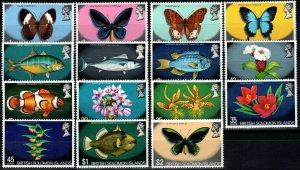 Solomon Islands #232-46   MNH CV $28.15  (X1485)