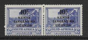 Kenya - Uganda 87 pair  1941  unused