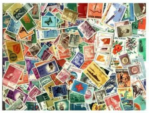 Indonesia Stamp Collection - 300 Different Stamps