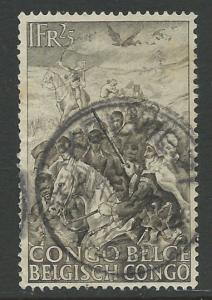 Belgian Congo # 228 Abolition of Slavery (1)  Used