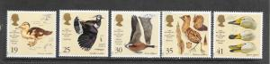 BIRDS - GREAT BRITAIN #1653-57
