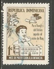 Dominican Republic RA67 VFU Z686-2