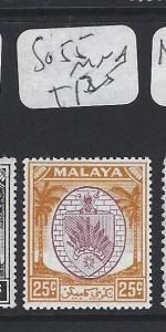 MALAYA  NEGRI SEMBILAN  (P0609B)  25C  SG 55     MNH
