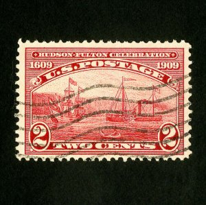 US Stamps # 372 Superb Neat cancel