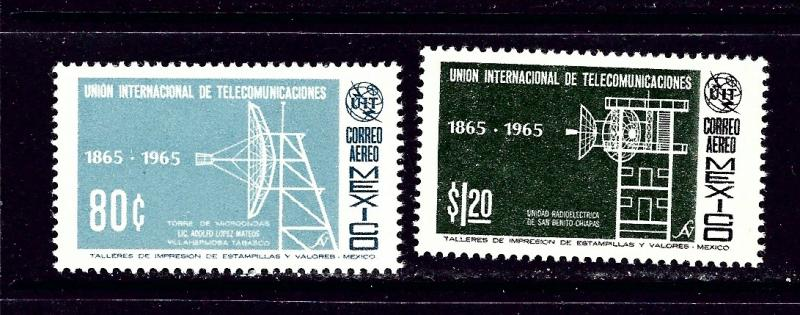 Mexico C303-04 MH 1965 Intl Telecommunications Union