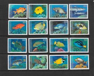 FISH - MICRONESIA #156-167 MNH