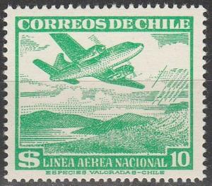 Chile #C163  MNH  (S7193)