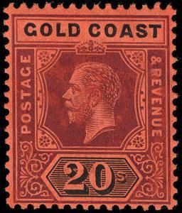 Gold Coast Scott 80 Gibbons 84 Never Hinged Stamp