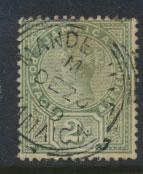 Jamaica  SG 28  Used - nice DE 20 '89 cancel- see scan and details