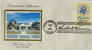 Colorano Silk 3930 Presidential Libraries Herbert H. Hoover West Branch Iowa