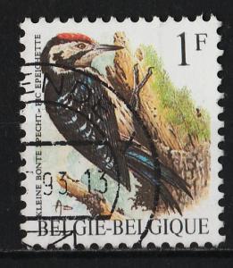 Belgium 1985/1991 Birds 1F (1/15) USED