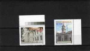 Guatemala 1997 Landmark Buildings Set (2) MNH Sc # 470-471