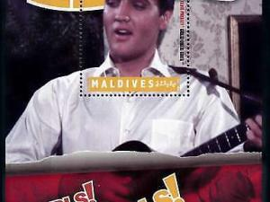 [78502] Maldives 2010 Music Elvis Presley Movie Girls Girls Girls Sheet MNH
