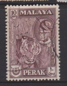 Malaya Perak Sc#132 Used