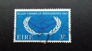 Ireland 1965 Year of International Co-operation Used