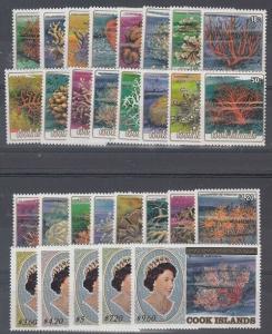 Cook Islands Scott 787-815 Mint NH (Catalog Value $69.50)