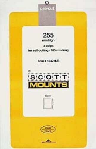Scott/Prinz Souvenir Sheets & Small Panes Stamp Mount Size: 185x255 #1042 Clear