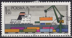 Poland 2190 Loading Sea Containers, Gdynia. Port 1.50zł 1976