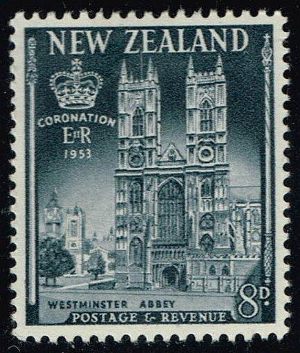 New Zealand #283 Westminster Abbey; Unused (1.00)