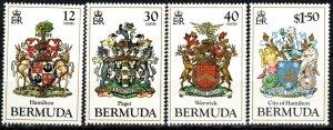 Bermuda #474-7 MNH CV $9.25 (X5287)