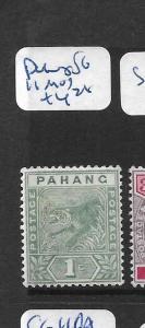 MALAYA   PAHANG   (P1207B)  TIGER  1C  SG 11   MOG