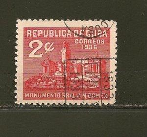 Cuba 323 Gomez Monument Used
