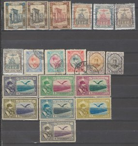 COLLECTION LOT # 3713 IRAN 19 STAMPS 1915 CV+$22