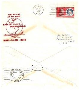 United States, Florida, First Flight, Ecuador