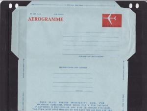Australia 33c Aerogramme unused VGC