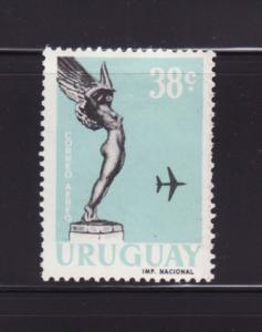 Uruguay C213 MH Flight from Fallen Aviators Monument