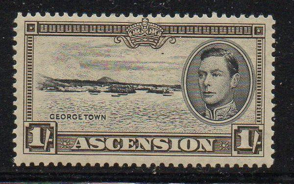 Ascension Sc 46 1944 1/ Georgetown stamp mint