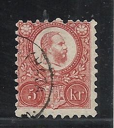 Hungary #9 used cv $1.75