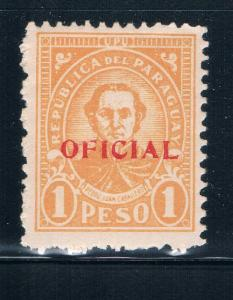 Paraguay O96 MNH Pedro Caballero (GI0192)+