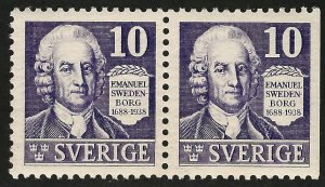 Sweden* SC#264 Pair Mint VF SCV $11.50....Fill a Value spot!