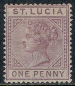 St. Lucia #29a*  CV $15.00