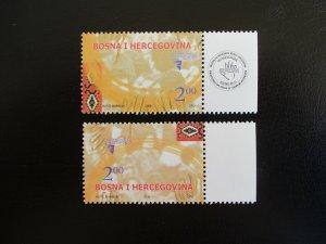 Bosnia and Hercegovina #535-36 Mint Never Hinged (M7O4) - Stamp Lives Matter! 2