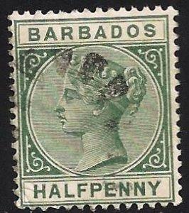 Barbados 1882 Scott# 60 Used