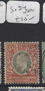EAST AFRICA AND UGANDA (P2510B) KE  5 A  SG 24   VFU
