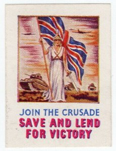 (I.B) Cinderella Collection : National War Savings Appeal (WW2)