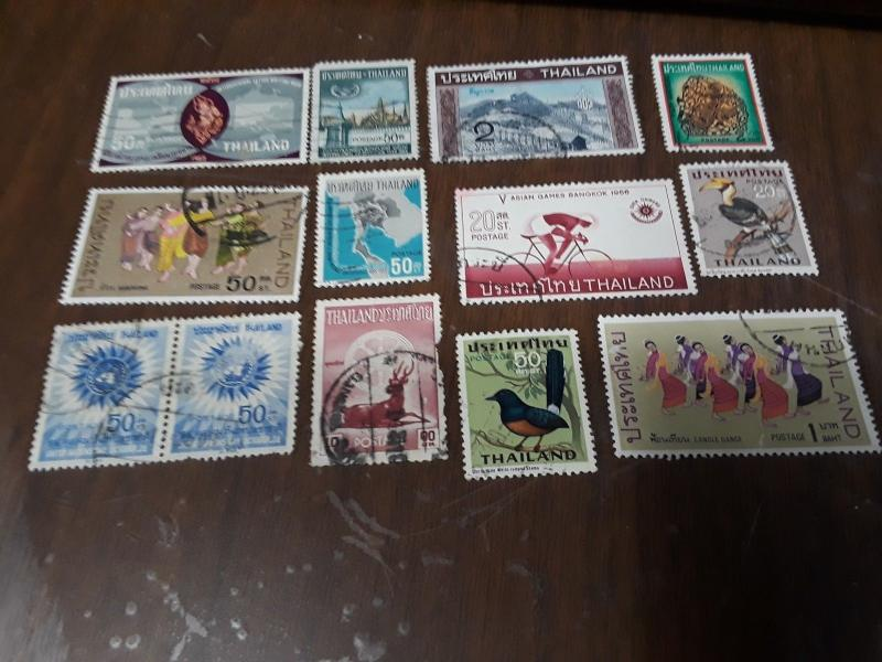 Thailand Stamps Lot 2