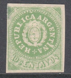 ARGENTINA  An old forgery of a classic stamp................................C989