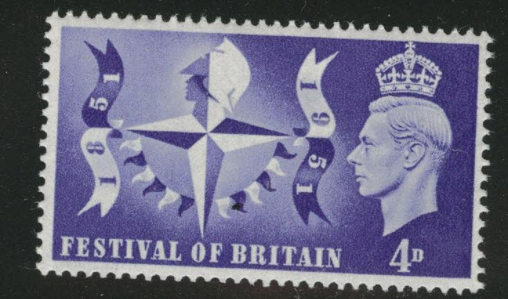 Great Britain Scott 291 MNH**  key 1951 Festival of Britain