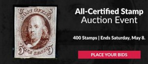 The 2nd All-Certified Stamps Auction