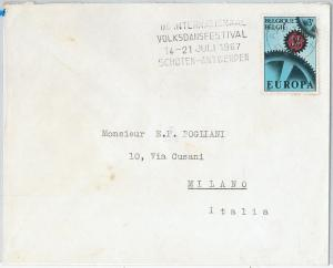 59782 -  ITALY - POSTAL HISTORY:  COVER  1967 -  MUSIC