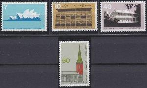 Australia 584-587 MNH (1973)