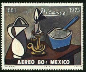 MEXICO C428 In Memoriam Pablo Picasso - painter & sculptor MINT, NH. VF.