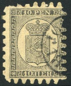 FINLAND 13 USED, Average with circular cancel