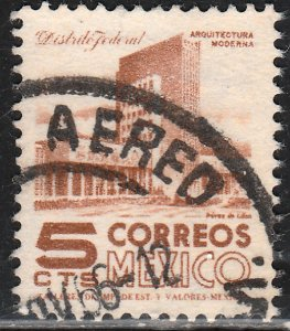 MEXICO 943, 5cents 1950 Definitive 3rd Printing wmk 350. USED. F-VF. (1426)