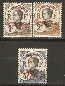 France Off China Hoi Hao 49-51 Cer 49-51 MH F 1908 SCV $5.10