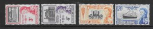 Sierra Leone 221-24  1961 set 4